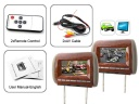 "Package Content - This 7"" widescreen headrest monitor is the perfect car accessory for keeping your passengers entertained during those long road trips or your daily commute. It connects quickly and easily to any car DVD player or digital TV receiver with a standard RCA video OUT (yellow) connection and supports wireless infrared headphones so your passengers can listen to the audio while you drive safely."
