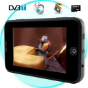 DVB-T MP3 MP4 F - Handheld multimedia system with a 4.3 inch widescreen LCD display and 8GB's of internal memory. The CVGI-E41 also comes with a micro SD card card slot for adding additional memory, two stereo speakers and DVB-T to round out its primary feature set.